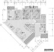 常见户型解析连载(九)  三角形客厅——用家具弱化斜向客厅